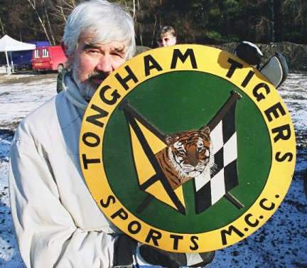 Tongham Tigers Logo - held by one of the club's founding members